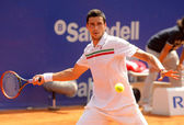 Romanian tennis player Victor Hanescu — Stock Photo
