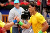 Tenista espanhol rafael nadal — Fotografia Stock