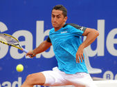 Spanish tennis player Nicolas Almagro — Stock Photo