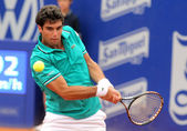 Spanish tennis player Pablo Andujar — Stock Photo