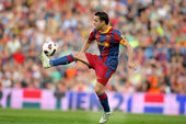 Xavi Hernandez of Barcelona — Stock Photo