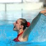 ������, ������: Slovakian synchro swimmer Kristina Krajcovicova