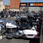 Harley-Davidson Motorcycles — Stock Photo #18760549