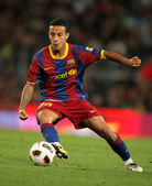 Thiago Alcantara of Barcelona — Stock Photo