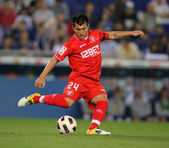 Gary Medel of Sevilla — Stock Photo