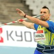Rafael Baraza of Spain during Javelin Throw — Foto Stock