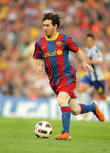 Leo Messi of FC Barcelona — Foto Stock