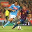 Постер, плакат: Salvatore Aronica L of SSC Napoli followed by Ignacio Cuenca
