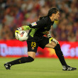 Постер, плакат: Jose Manuel Pinto of FC Barcelona