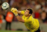 Iker Casillas of Real Madrid — Stock Photo