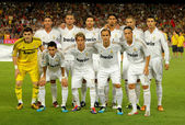 Real Madrid Team — Stock Photo