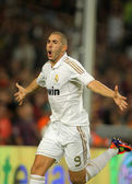 Karim Benzema of Real Madrid — Stock Photo
