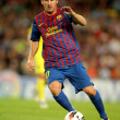 Постер, плакат: Leo Messi of FC Barcelona