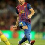 Постер, плакат: Cesc Fabregas of FC Barcelona