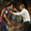 Постер, плакат: Guardiola trainer of FC Barcelona