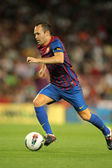 Andres Iniesta of FC Barcelona — Stock Photo