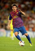 Leo messi z fc barcelona — Zdjęcie stockowe