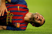 Javier mascherano do fc barcelona — Foto Stock