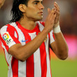 Radamel Falcao of Atletico Madrid — Stock Photo