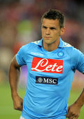Christian Maggio of SSC Napoli — Stock Photo