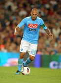 Paolo Cannavaro of SSC Napoli — Stock Photo