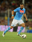 Andrea Dossena of SSC Napoli — Stock Photo