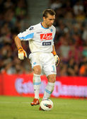 Morgan De Sanctis of SSC Napoli — Stock Photo