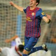 Isaac Cuenca of FC Barcelona celebrates goal — Stock Photo