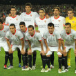 Sevilla FC team posing - Stock Photo