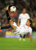 Jesus Navas of Sevilla FC — Stock Photo