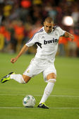 Karim Benzema of Real Madrid — Stock Photo