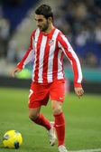 Adrian Lopez of Atletico Madrid — Stock Photo