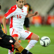 Tunisian player Mejdi Traoui — Stock Photo