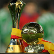 ������, ������: FIFA Club World Cup thropy won for FC Barcelona and Golden ball won for Leo Messi
