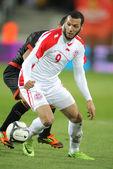 Tuniský hráč yassine chikhaoui — Stock fotografie