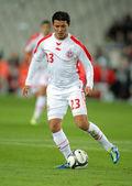 Tunisian player Amine Chermiti — Stock Photo