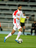 Tunisian player Oussama Darragi — Stock Photo