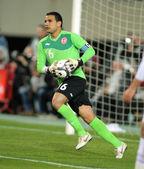 Tunisian goalkeeper Aymen Mathlouthi — Stock Photo