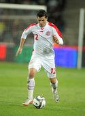 Tunisian player Khalil Chemmam — Stock Photo