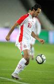 Tunisian player Zouheir Dhaouadi — Stock Photo
