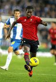 Ibrahima Balde of Osasuna — Stock Photo
