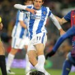 Mikel Aramburu of Real Sociedad — Foto de Stock
