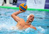 Jogador de pólo aquático húngaro arpad babay de cn mataro — Foto Stock