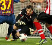 Gorka Iraizoz of Athletic Bilbao — Stock Photo