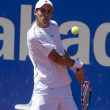 Colombian tennis player Santiago Giraldo - Stock Photo