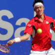 Stock Photo: Japanese tennis player Kei Nishikori