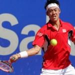 giapponese tennis giocatore kei nishikori — Foto Stock