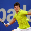 Canadian tennis player Milos Raonic - Stock Photo
