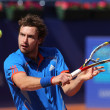 Latvian tennis player Ernests Gulbis - Stock Photo