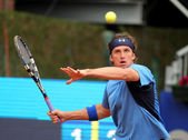 Russian tennis player Igor Andreev — Stock Photo